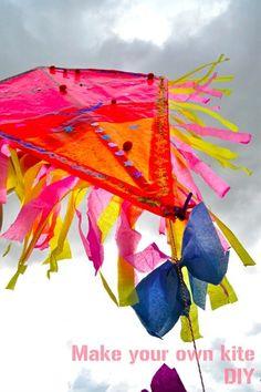 Make Your Own Kite Tutorial by Paul & Paula
