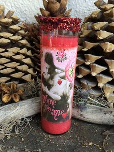 Rita's Come to Me 7 Day Hoodoo Ritual Candle - Entice the Luvers You Wish to Come Close - Pagan, Hoodoo, Witchcraft