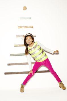 Sequin stripe top #GapLove