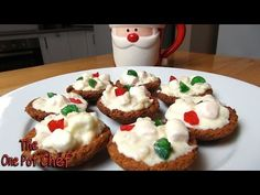 White Christmas Tartlets - CHRISTMAS RECIPE - YouTube