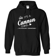 Its A Cannon Thing - #hoodie #cute hoodie. SAVE => https://www.sunfrog.com/Names/Its-A-Cannon-Thing-afxgd-Black-4486425-Hoodie.html?68278