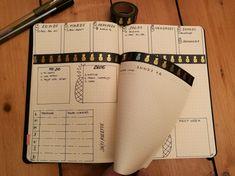 Idée de mise en page avec une dutchdoor dans un bujo. Cette technique très simple permet de visualiser plus d'informations à la fois.  #bujo #bulletjournal #dutchdoor #bujodutchdoor #bulletjournalfrançais #