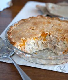 Just Chicken Pot Pie. . .no veggies ~ Heat Oven to 350