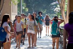 Welcome to your freshman year! Get used to the humidity. It never ends.