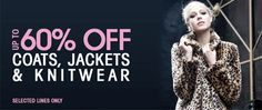 Up To 60% Off Knitwear, Coats & Jackets At Boohoo. http://thefashioncatalyst.com/site/2013/04/up-to-60-off-knitwear-coats-jackets-at-boohoo/