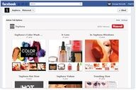 Woobox Pinterest Tab App for Facebook Pages.