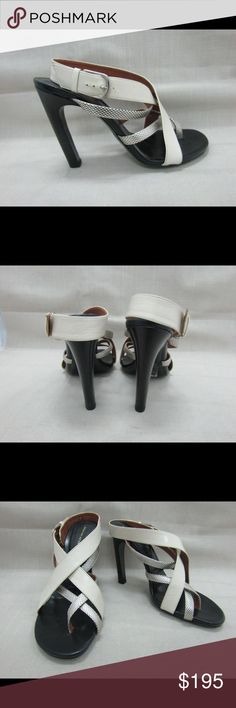 Gorgeous Dries van Noten Strappy Sandals Lovely Dries van Noten open-toe strappy sandals for the woman who appreciates craftsmanship.  Worn once.  No visible signs of wear except on bottom of soles.  Gorgeous! Dries van Noten Shoes Heels