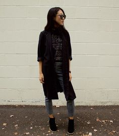 Get this look: http://lb.nu/look/8427367  More looks by Keri H: http://lb.nu/kerih  Items in this look:  Stussy T Shirt, Banana Republic Trousers   #chic #minimal #street