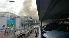Decenas de muertos tras dos explosiones en el aeropuerto de Bruselas