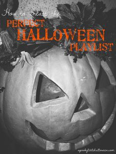 How to create the perfect Halloween playlist for your party or year-round listening! Halloween Playlist, Party Playlist, Halloween Fonts, Halloween Music, Halloween Party, Halloween Decorations, Playlist Music, Nostalgic Songs, Slow Songs