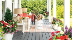 80 Breezy Porches and Patios - Southern Living - Patios and porches are an integral part of Southern culture. These classics are inviting and inspiring.