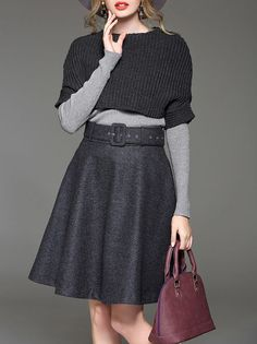 I love this crop sweater. Grey would be very versatile, but some spring time colors would also be great.