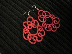tatting earrings