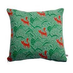 Donna Wilson foxy cushion