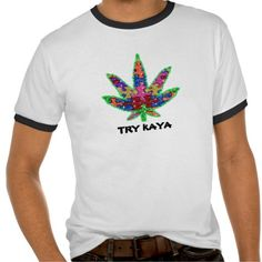 TRY KAYA LEAF FOR AUTISM ENLIGHTENMENT T-SHIRT