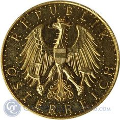 Random Date Austria 100 Schilling Gold Coin 1926-1934 (.6807 oz AGW)