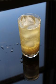 The Pear Haymaker: vodka, ginger beer, and muddled pear make it tart and refreshing, perfect for sipping on a cool fall evening
