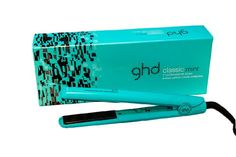 GHD Candy Collection Professional Styler, Classic Mint, Teal, 1 Inch ghd PROFESSIONAL  - This is supposed to be a really good one. Other good brand is Croc.