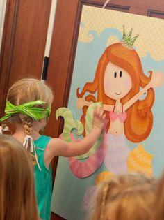Activité thématique anniversaire - Ariel la petite sirène Plus