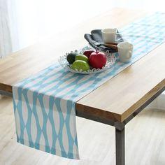 撥水加工 テーブルクロス ヘツキ ブルー | テーブルクロス | | テーブルクロスの専門店 ルームレシピ