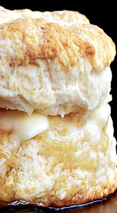 All-Purpose Biscuits - fat, flaky mounds of quick bread, golden brown, with a significant crumb ❊