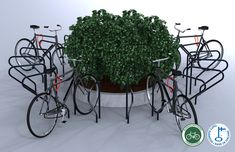 Image result for circular bicycle parking