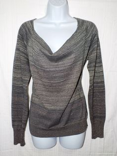 DKNY Casual Long Sleeve Knit Women's Top Blouse Shirt  Size #DKNYJeans #Blouse #Casual