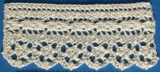 Even More Knit Lace Trim and Edgings – free patterns – Grandmother's Pattern Book
