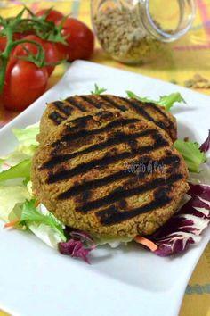 Hamburger di lenticchie, ricetta vegan