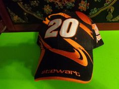 bbe53f60de2  20 Tony Stewart The Home Depot Racing Black Orange Hat Cap by Chase NASCAR  New  ChaseAuthentics  TheHomeDepotRacing