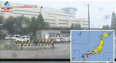 (6/out 9h) O Tufão N18 transformou-se em um sistema de baixa pressão, mas traz risco de fortes ventos e tempestades em áreas no oeste e norte do Japão.