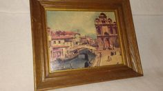 Check out this item in my Etsy shop https://www.etsy.com/listing/486392736/framed-place-at-venice-by-canaletto-fine