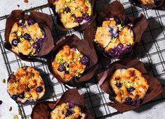 French toast muffins made with blueberries and maple syrup for a healthier breakfast treat. Visit sainsburys.co.uk for more recipes