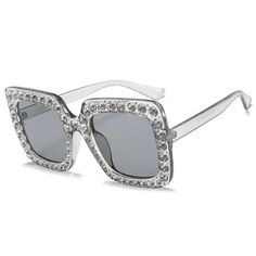 f2f3b7a90d Fashion Square Over sized Sunglasses! Shop this look and more at  www.pinkminkdolls.