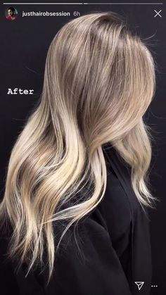 17 Stunning Examples of Balayage Dark Hair Color - Style My Hairs Blonde Hair Looks, Brown Blonde Hair, Sandy Blonde Hair, Blonde Honey, Going Blonde, Medium Blonde, Medium Brown, Black Hair, Dark Ombre Hair