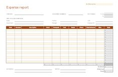Itemized Receipt Form  Templates    Template