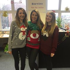 Customer service team Christmas Jumpers, Christmas Sweaters, Customer Service, Girls, Fashion, Moda, Daughters, Fashion Styles, Fasion
