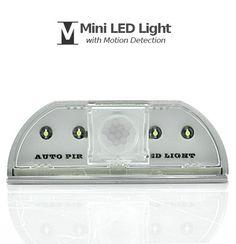 Mini LED Light with Motion Detection