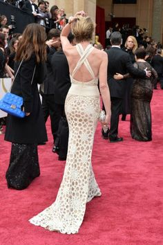 Portia de Rossi in Naeem Khan at the 2014 Oscars