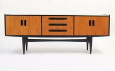 Stunning Upcycled G Plan sideboard Quality Spray painted