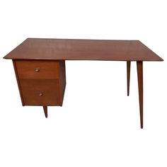 Early Paul McCobb Desk | From a unique collection of antique and modern desks and writing tables at https://www.1stdibs.com/furniture/tables/desks-writing-tables/