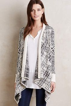 Mazarine Jacquard Cardigan - #anthroregistry