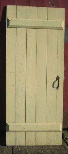 board and batten door