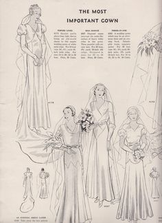 Butterick magazine, Spring 1932 featuring Butterick 4175, 4149, 4097 and 4285