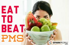 Foods that help, foods that hurt when you have PMS. | via @SparkPeople