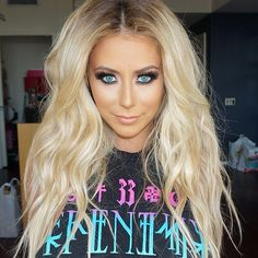 "#ShareIG A stunning glam by celebrity makeup artist ✨@EtienneOrtega✨ on gorgeous bombshell ✨@Aubrey O'Day✨ with #FlutterLashes! Love @Aubrey O'Day from ""Danity Kane"" with her top hits ""Show Stopper"" and ""Damaged"""