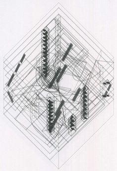 АРХІТЕКТУРНИЙ САМВИДАВ: Пітер Айзенман: Стратегії порожнечі. Рем Кулгас, Jussieu Libraries, 1992-1993. Розділ 8 з книги Пітера Айзенмана «Десять канонічних споруд 1950-2000» (2008)