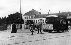 1909 | De Paardentram passeert de Wittevrouwenbrug richting de binnenstad