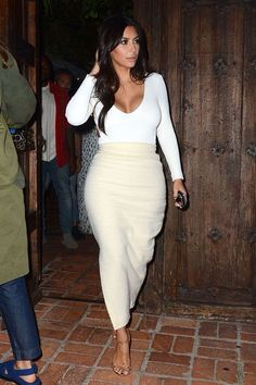 Love her outfit.... - Kim Kardashian Style