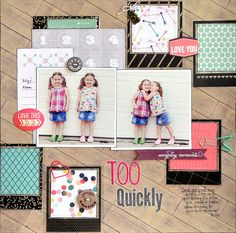 Adorable Recorded Layout by Designer Jill Cornell!